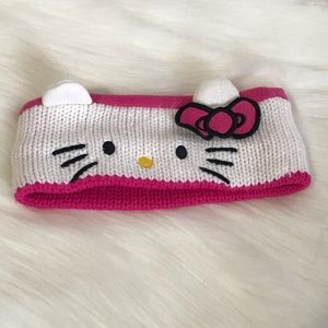 Hello kitty girls knit headband size 4-16